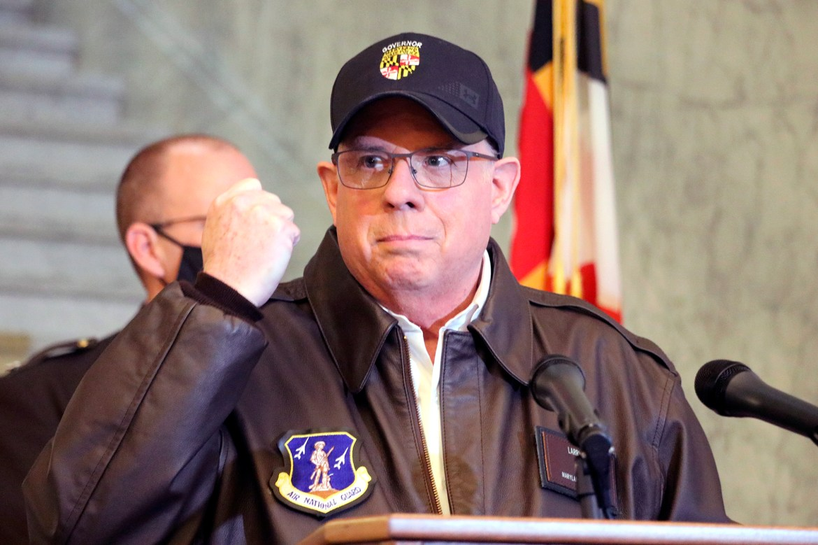 Gov. Hogan: Pentagon took hours to OK National Guard troops for Capitol riots 1