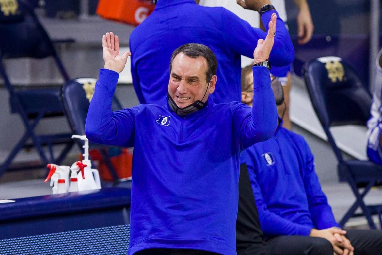 Mike Krzyzewski won't coach Duke game after COVID-19 exposure 1