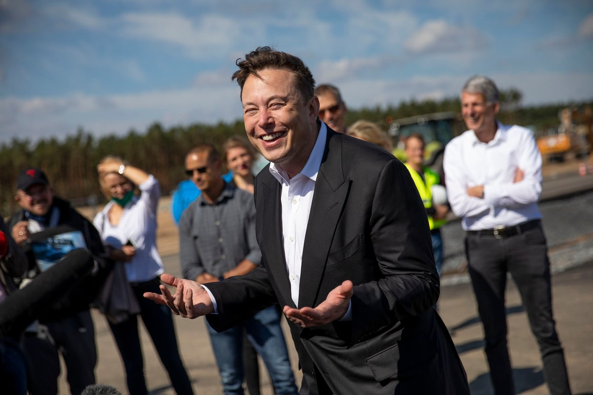 Elon Musk causes a stir after tweeting 'legalize comedy' 1