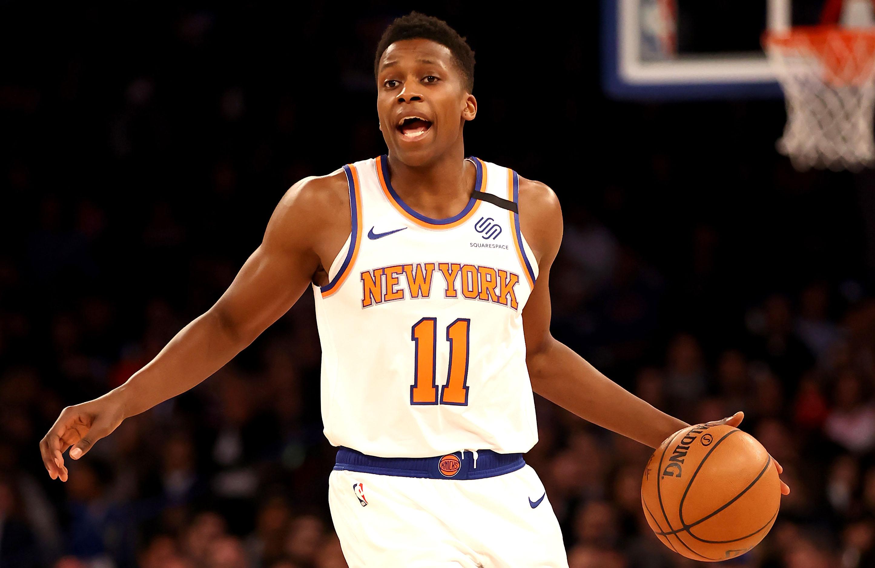 Four Knicks guards out vs. Raptors