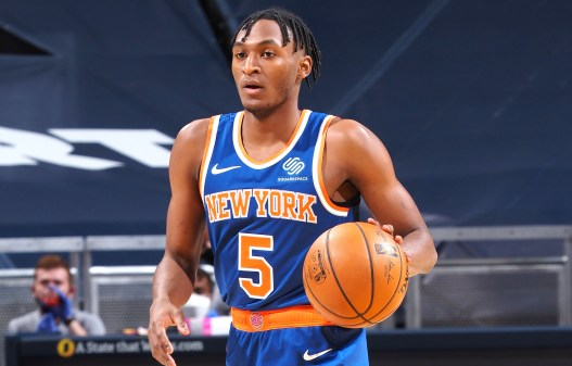 Immanuel Quickley makes instant impact in return to Knicks lineup