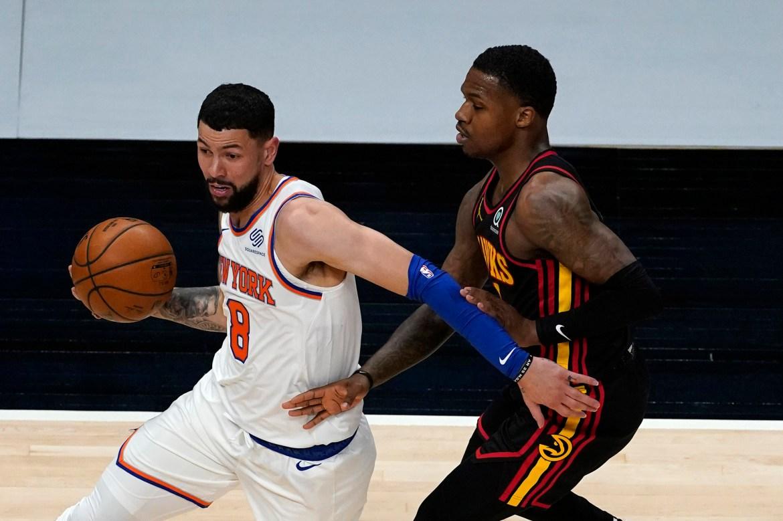 Knicks' Austin Rivers blames 'ignorance' for NBA's COVID-19 problems 1