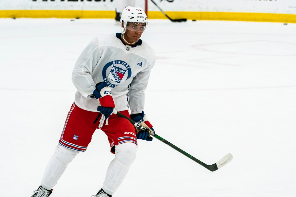 Rangers testing out intriguing new defensive pairing 1