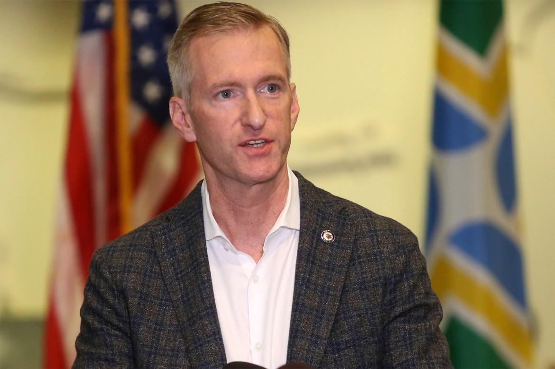 Portland Mayor Ted Wheeler is now echoing … President Trump 1