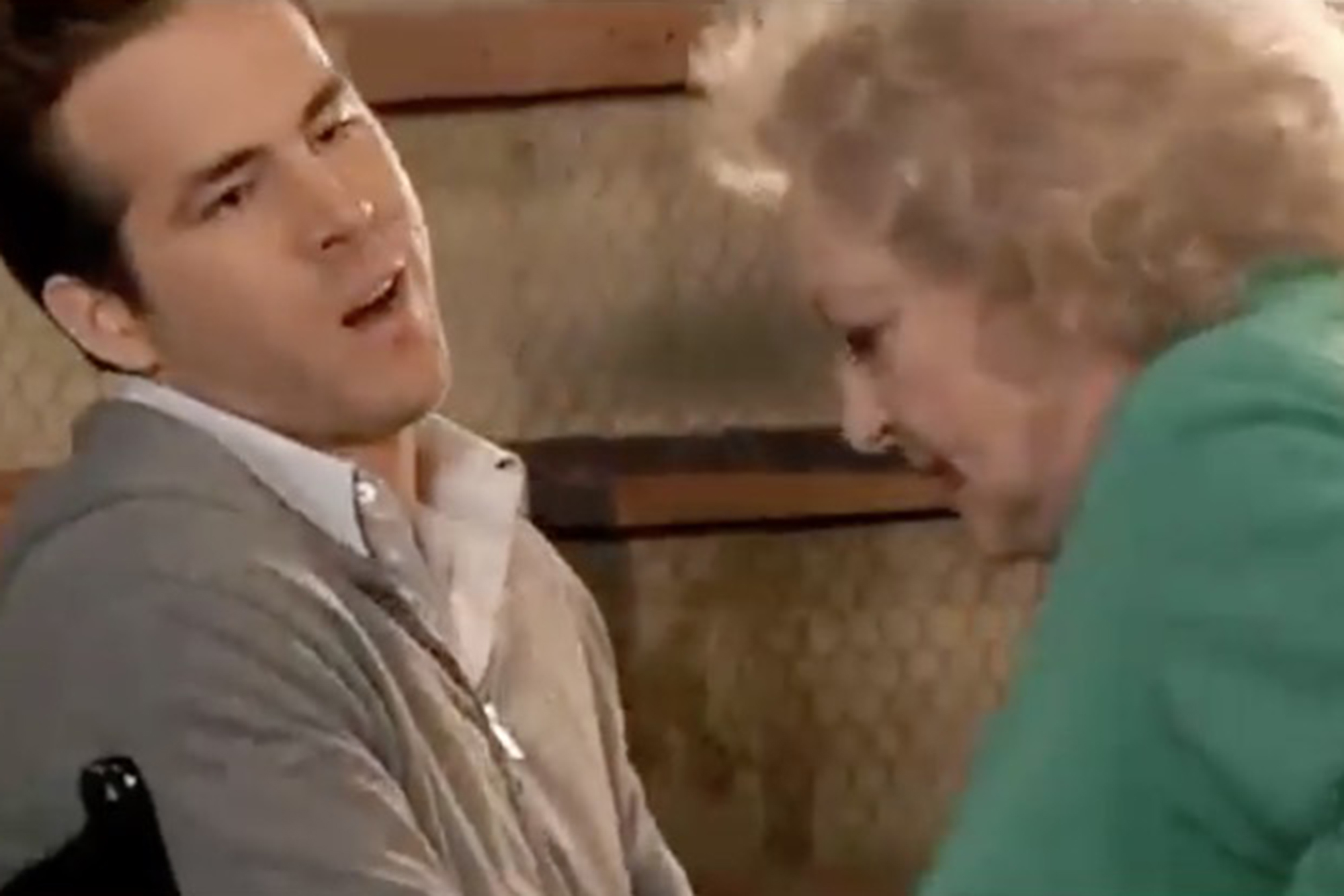 Ryan Reynolds sends 'demon' Betty White shocking video