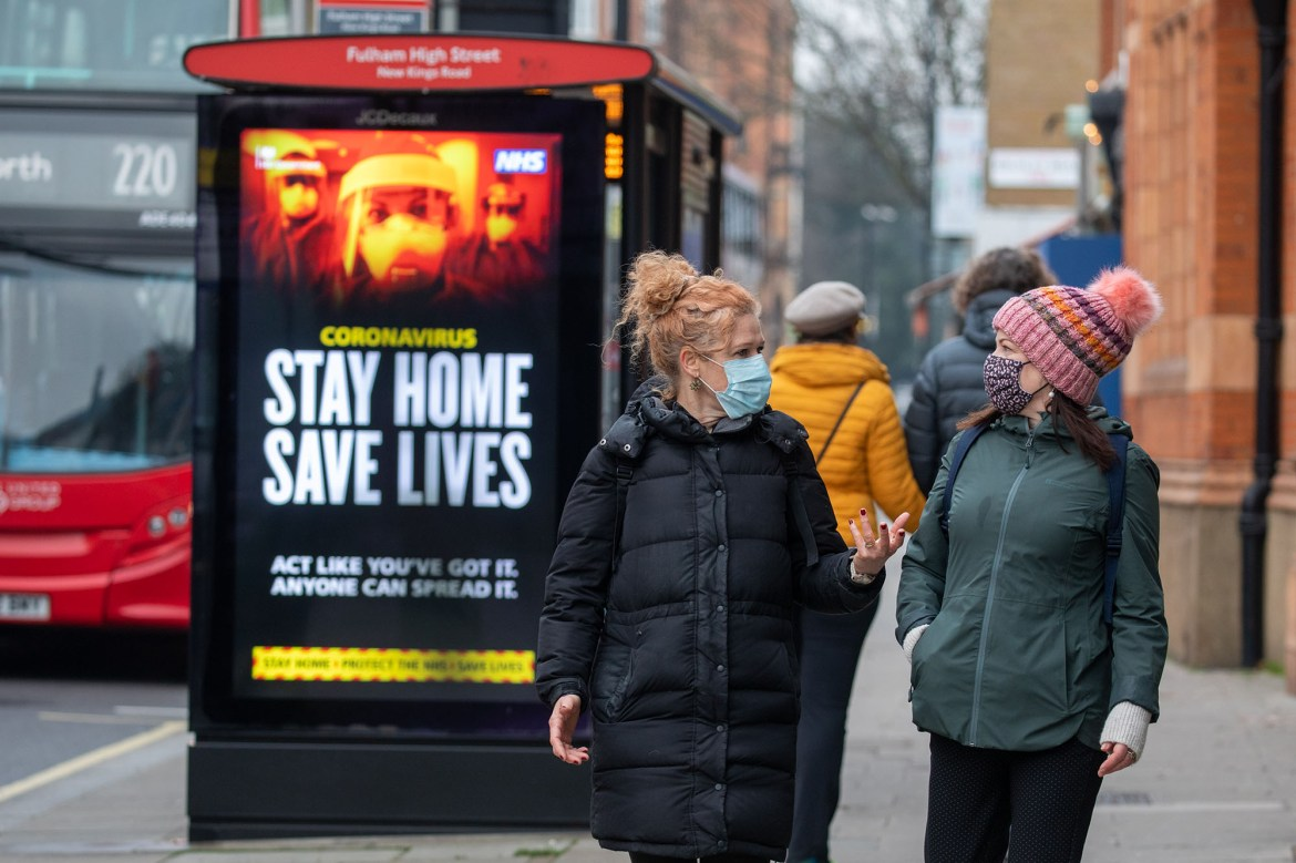 'Act like you've got it': COVID ads in UK urge people to stay home 1