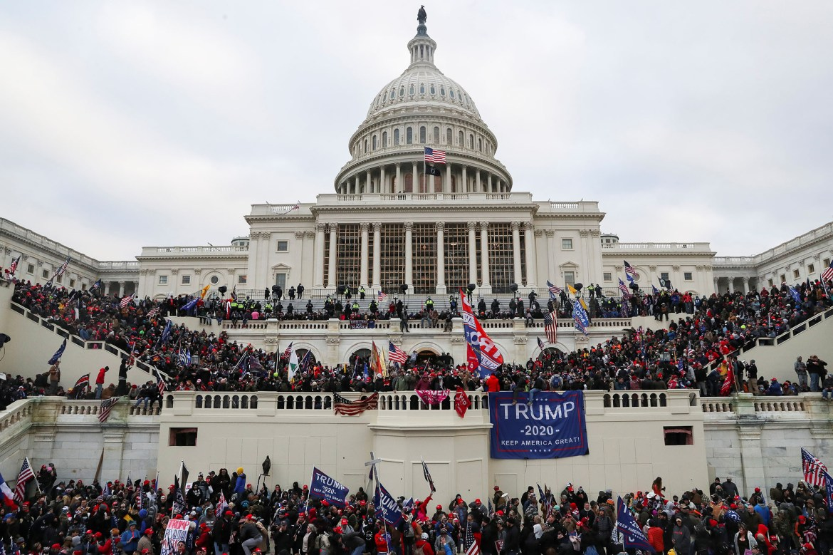 Ex-Florida cop among pro-Trump rioters who stormed US Capitol: report 1