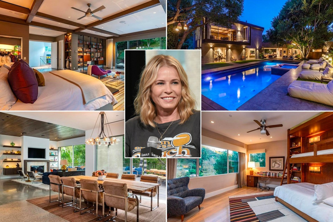 Chelsea Handler sells her first home for $10.5M after  'a lot of work' 1