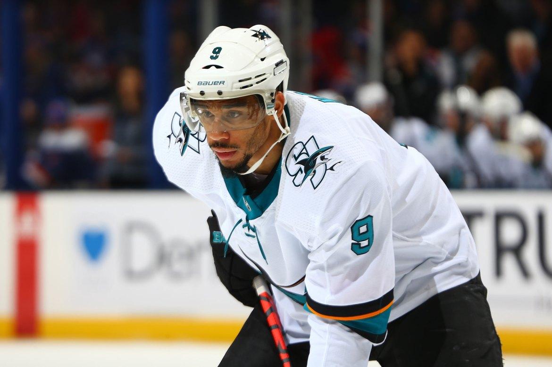 Sharks' Evander Kane files for bankruptcy 1