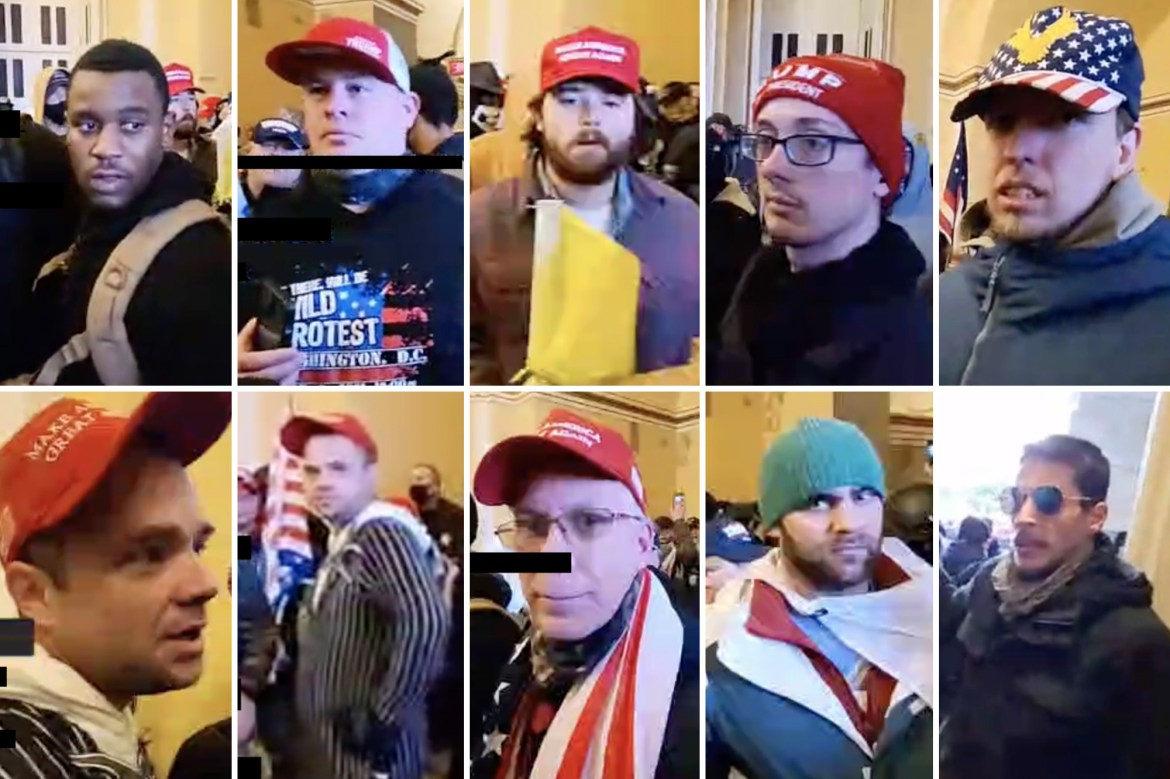 FBI releases 10 more photos of suspected Capitol rioters 1