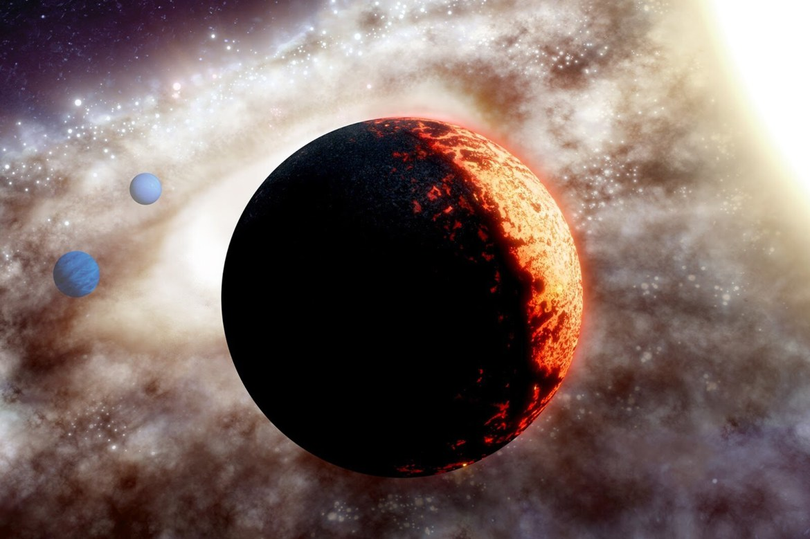 NASA discovers 10-billion- year-old planet unlike any other in deep space 1