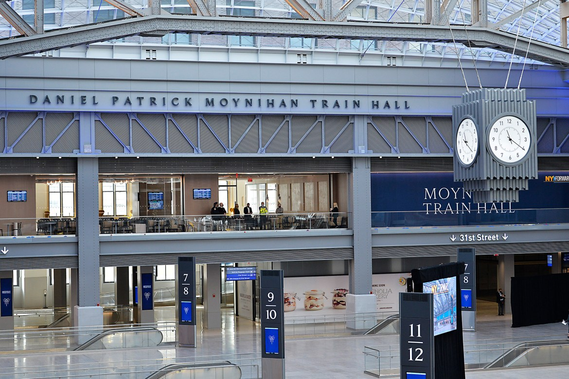 The new Moynihan Train Station offers hope for out-of-town commuters 1