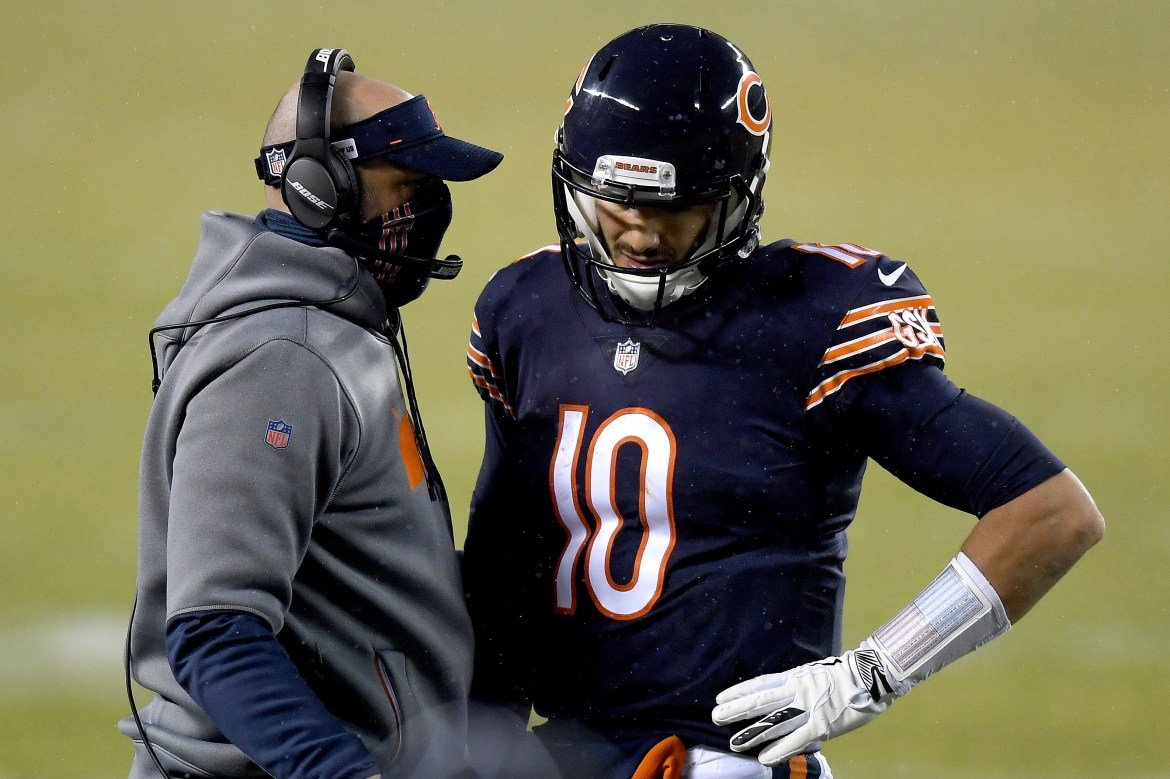 Rex Ryan gets personal with Matt Nagy attack over Mitch Trubisky treatment 1