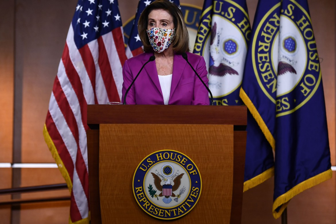 House moving forward with Trump impeachment process, Pelosi says 1