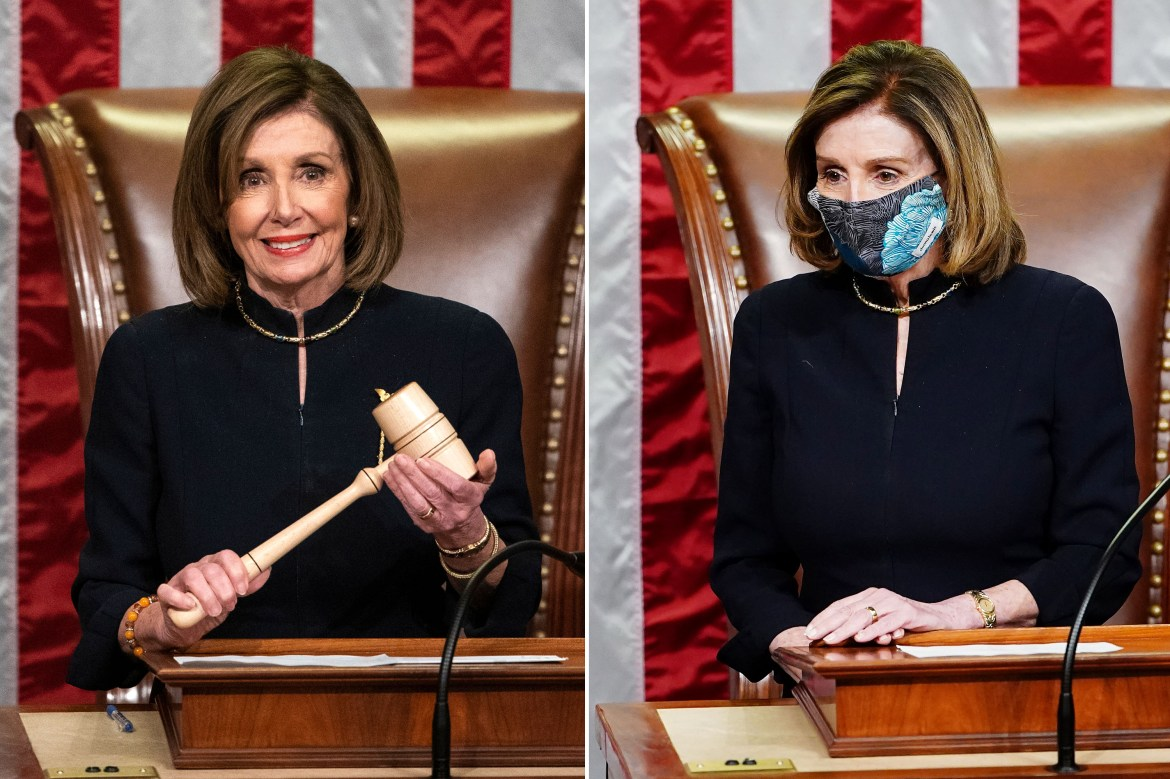 Nancy Pelosi wore the same dress for both impeachments 1