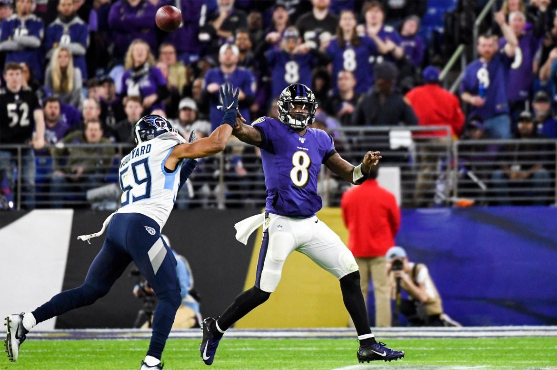 Ravens vs. Titans line, prediction: Tennessee will contain Lamar Jackson 1