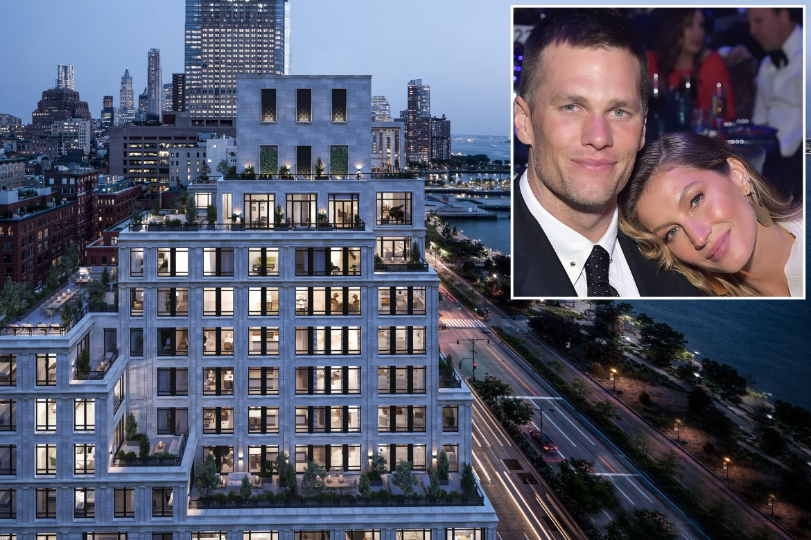 Tom Brady and Gisele Bündchen net $37M on NYC apartment, move to Miami 1