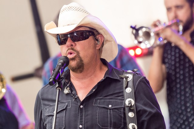 """Toby Keith Performs On NBC's """"Today"""""""
