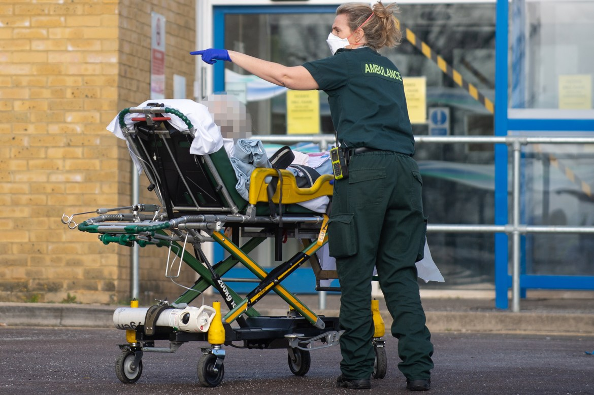 UK reopens field hospitals as COVID-19 cases surge 1