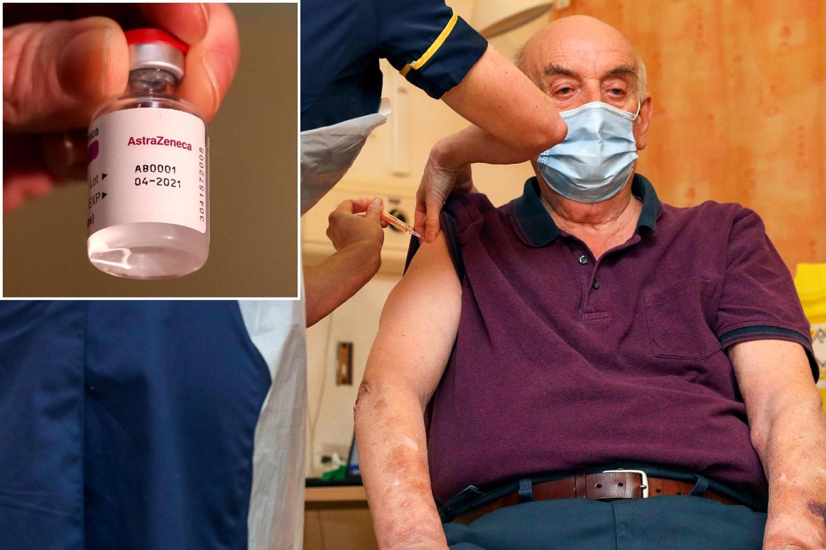 UK man, 82, is first to get AstraZeneca/Oxford COVID-19 vaccine 1
