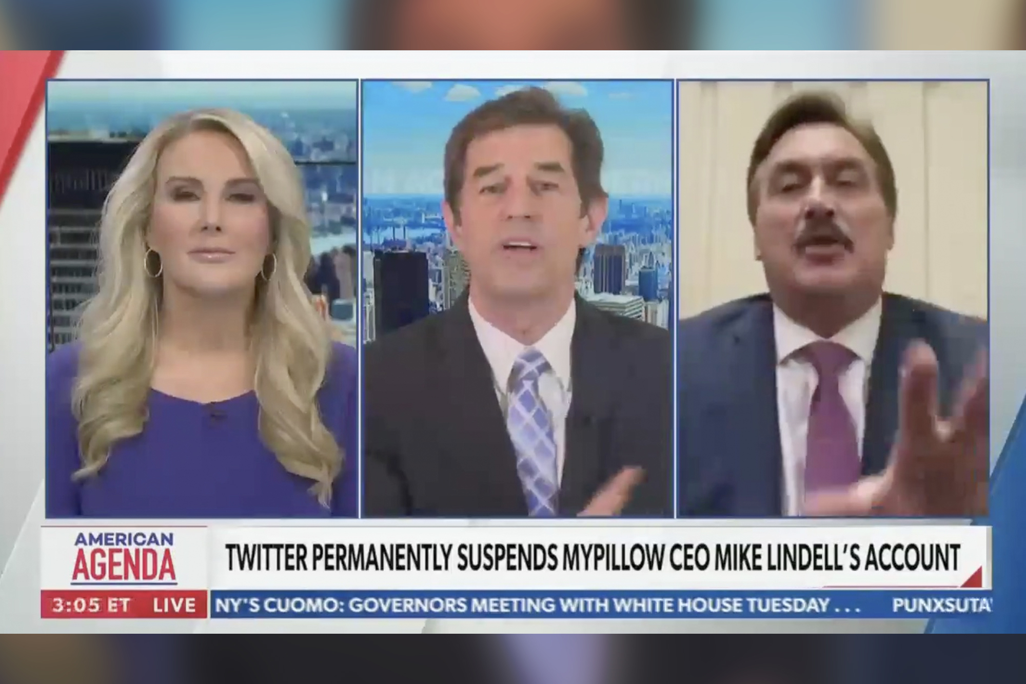newsmax anchor leaves interview with my