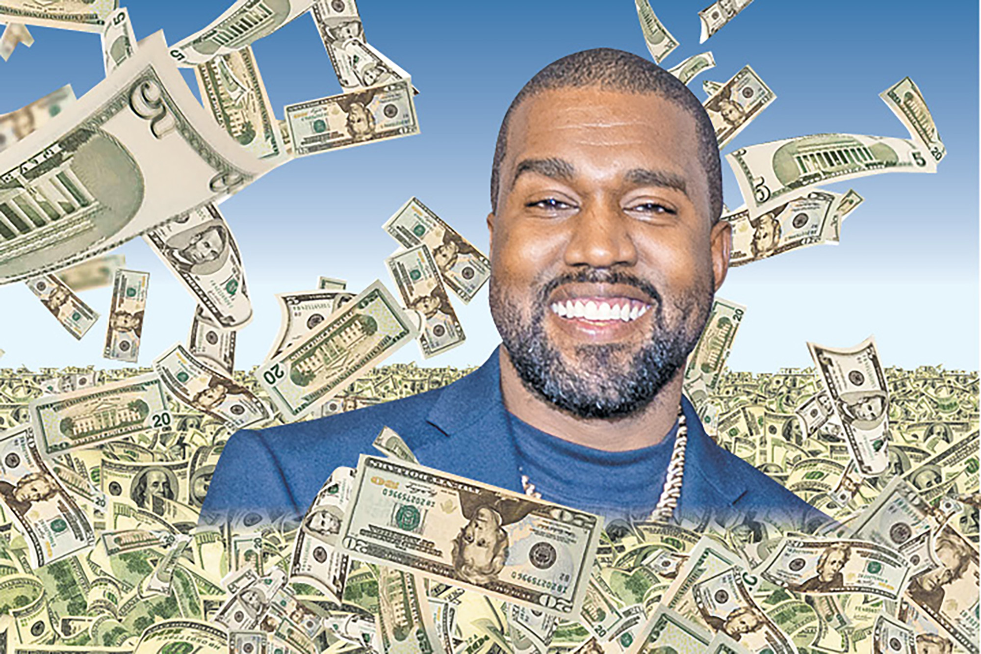 Kanye West could now be worth more than $19 billion