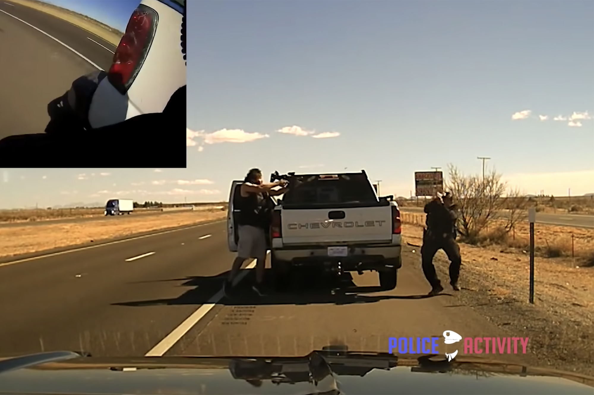 Grisly video shows New Mexico cop's shooting death during traffic stop