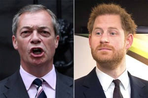 UK will not receive Prince Harry at home: Brexit leader Nigel Farage