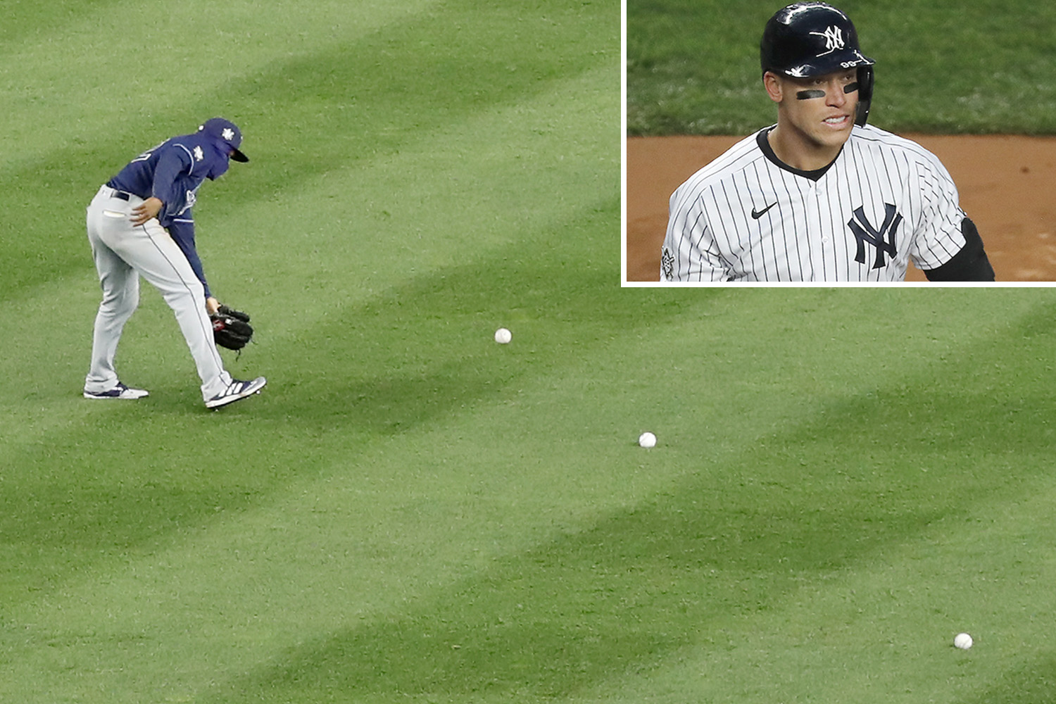 Yankees lose to Rays, fans throw balls and objects on the field