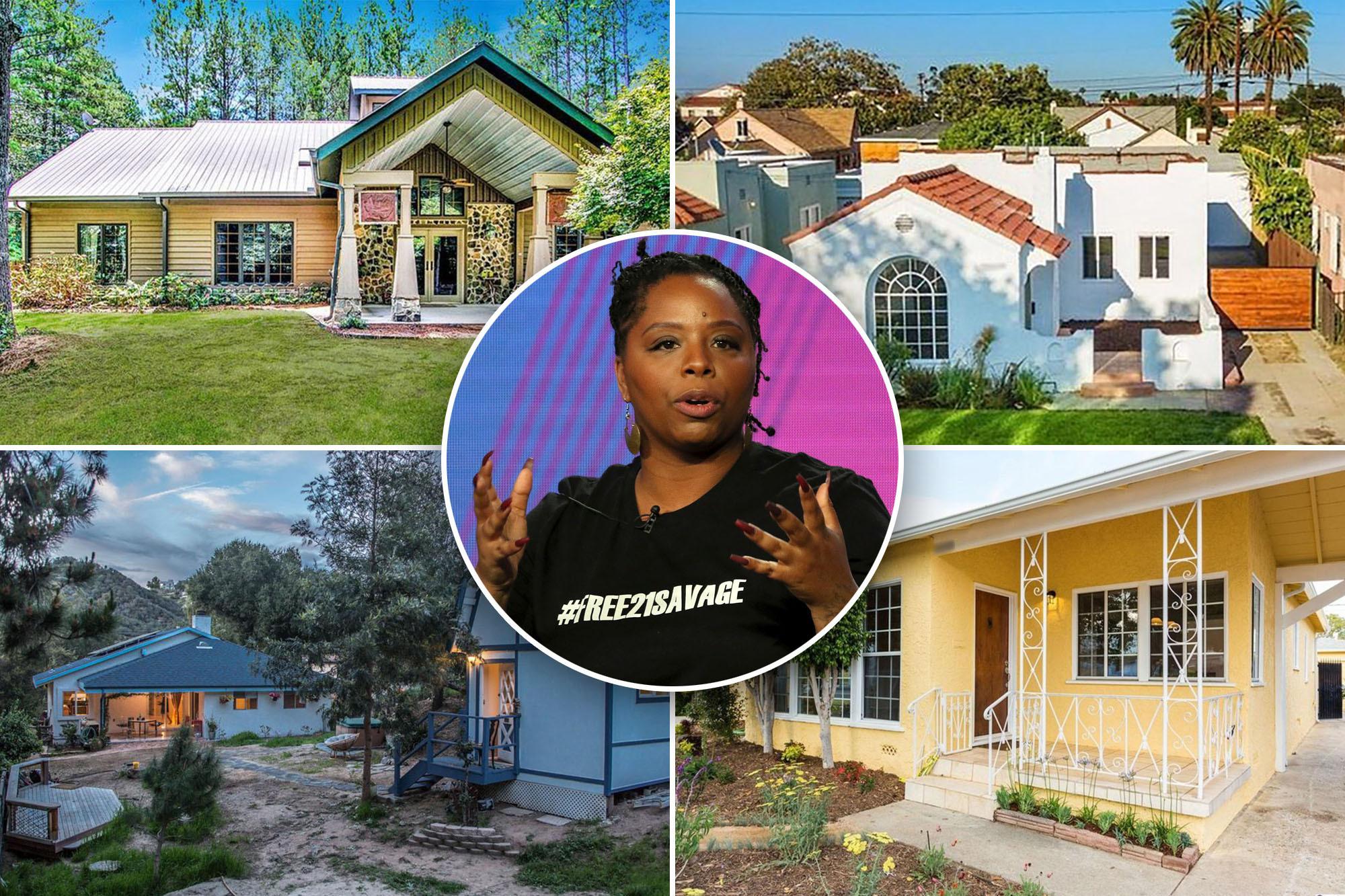 Inside BLM co-founder Patrisse Khan-Cullors' real-estate ...