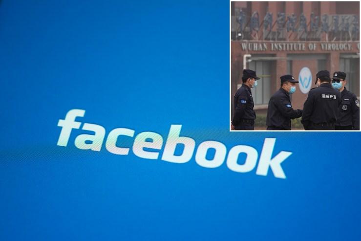 Facebook coronavirus posts