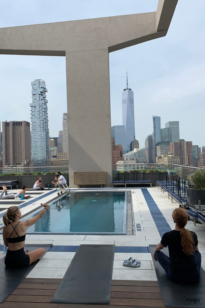 FeaturesGood Day Rooftop PilatesCourtesy of Good Day Rooftop Pilates