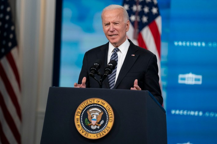 President Joe Biden has struggled in his early months at the top of the executive branch, writes Eddie Scarry.