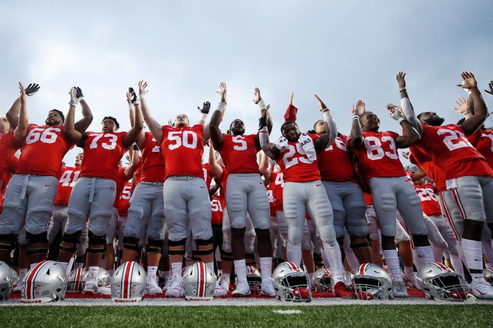 A university report found that an Ohio massage therapist used free massages to have sex with Ohio State University football players.