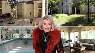 Joan Rivers' abandoned 'Beverly Hills' mansion lists for .3M