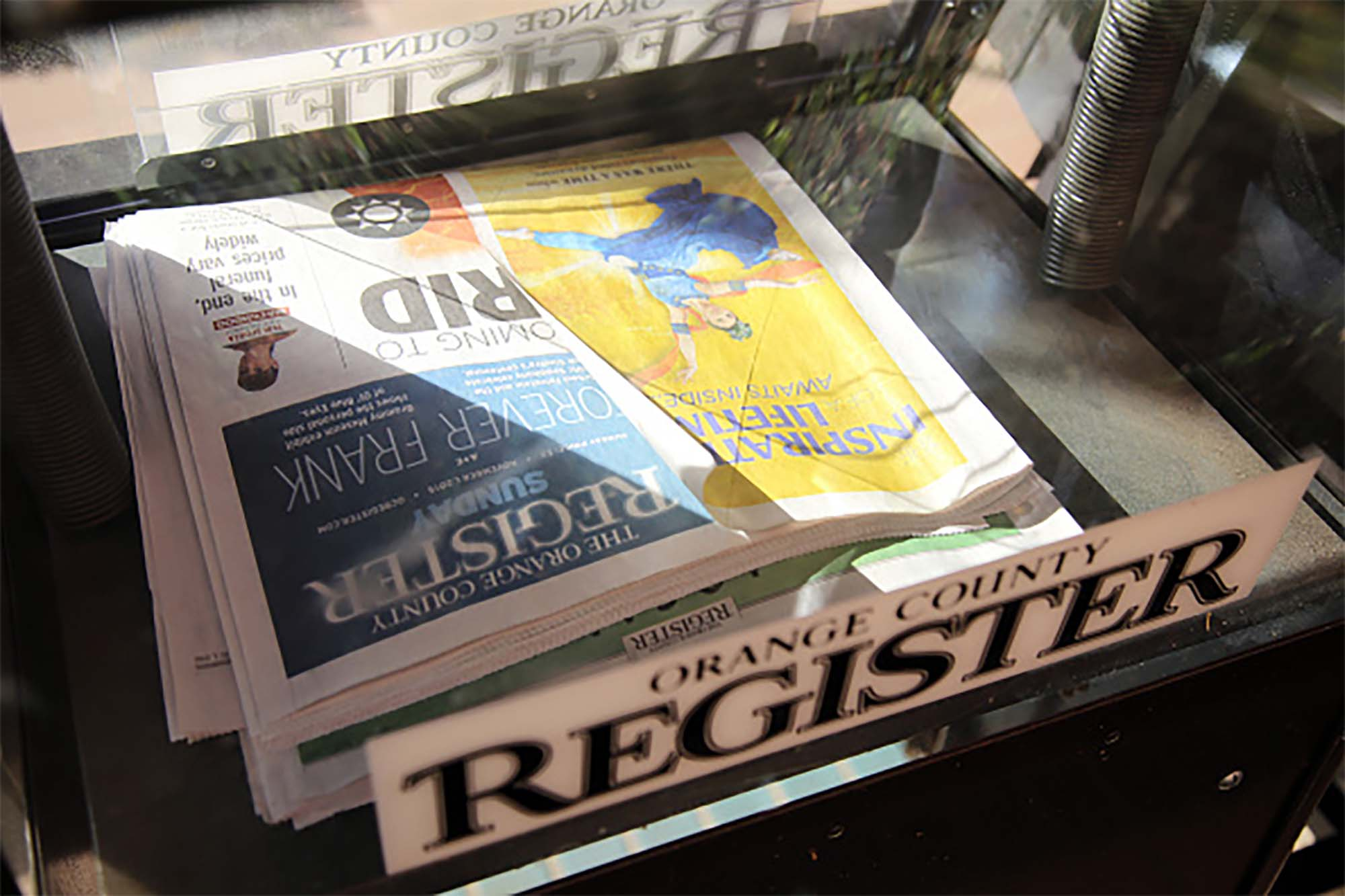 So you want to know why the OC Reg and the LB Press-Telegram barely cover us anymore… ?
