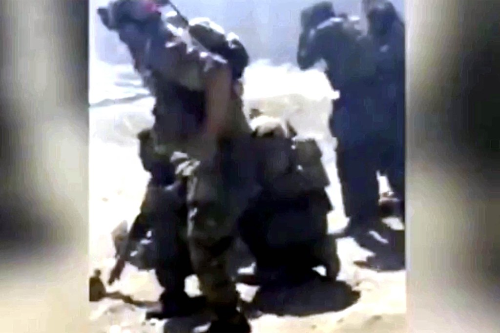 Graphic video shows Taliban executing unarmed Afghan special forces soldiers