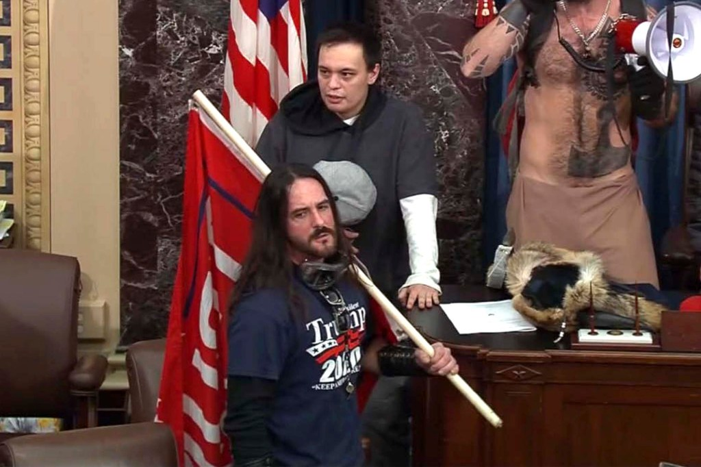 Florida man gets 8 months in first felony sentencing in Capitol riot