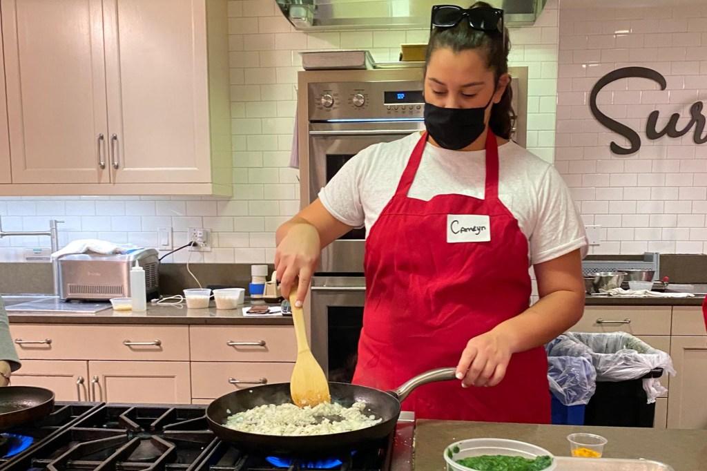 Camryn La Sala cooking