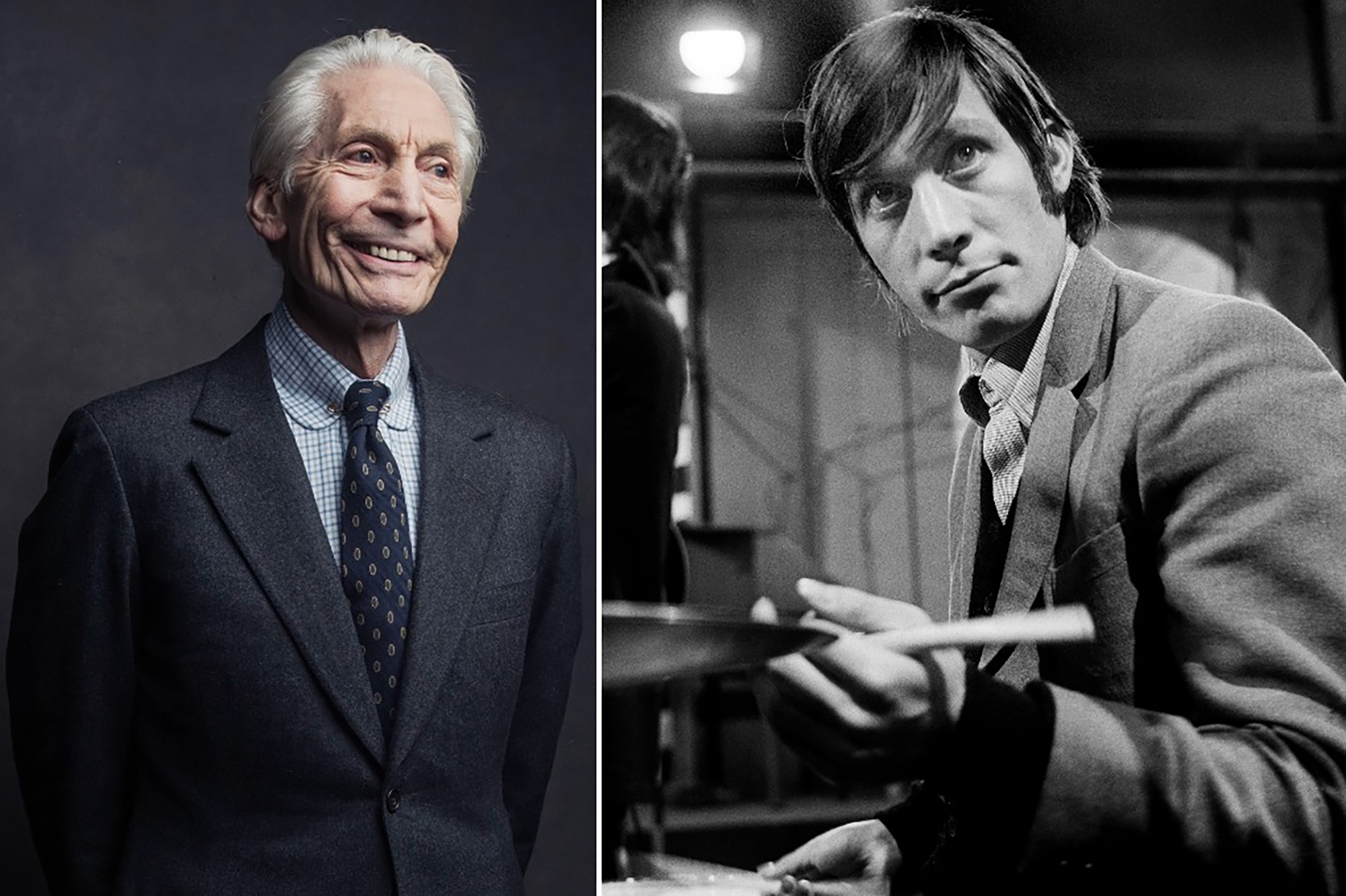 Tales from Charlie Watts' life as Rolling Stones...