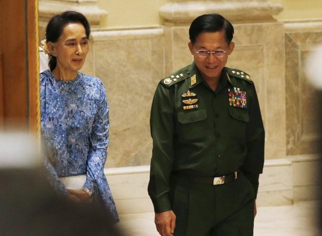 Aung San Suu Kyi, Aung San Suu Kyi.