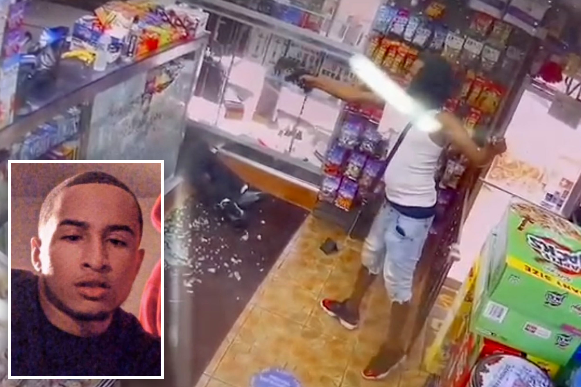 WATCH: The Streets Ain't Playing: 21-Year-Old Aspiring Actor Gets Gun Down Inside A Bronx Deli!