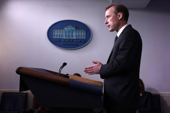 White House National Security Adviser Jack Sullivan.