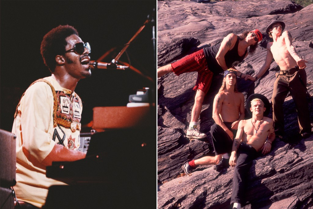 Stevie Wonder and the Red Hot Chili Peppers