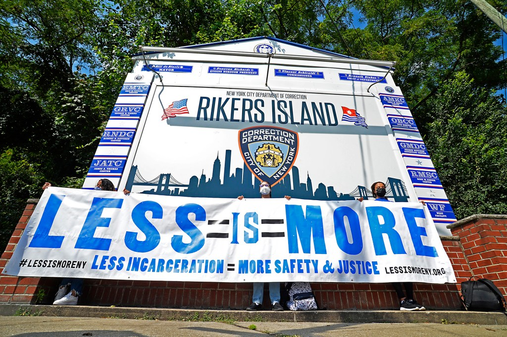 A group of activists and local politicians, including Jumaane Williams, emerged from Rikers Island jail after taking a tour of the facility reporting of the beyond deplorable conditions the inmates are living in.