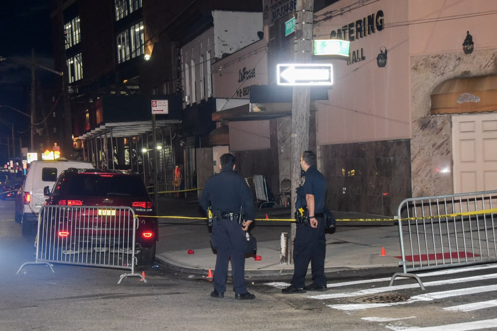 A 22-year-old was struck in the left shoulder when she was attempting to leave what she thought was a ride-share and the driver tried to snatch her purse.