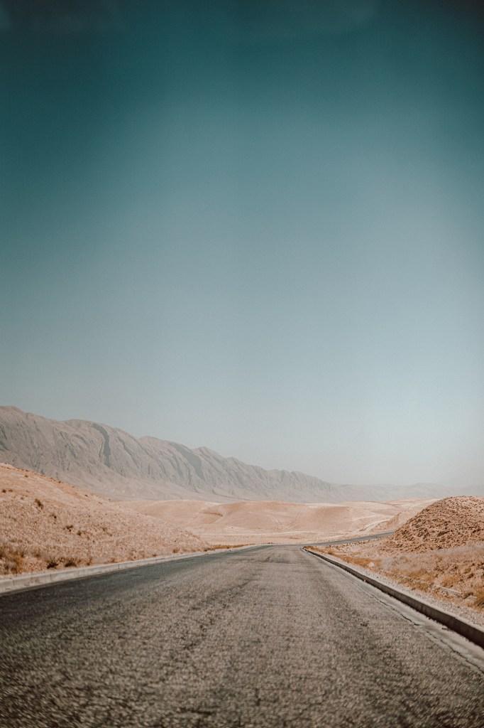 The road to Kabul from Samangan.