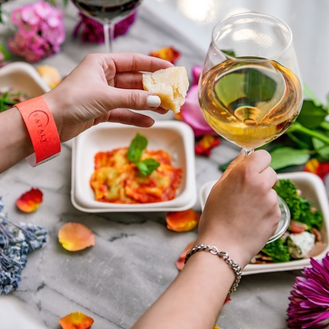 What better way to celebrate the incoming of fall than with wine and pasta?