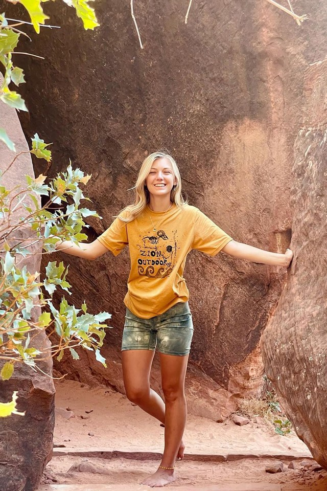 Gabby Petito Timeline - at Zion National Park on July 16