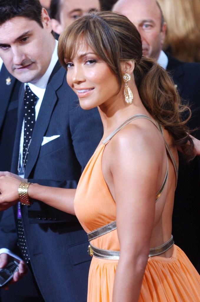 Rob Shuter and Jennifer Lopez